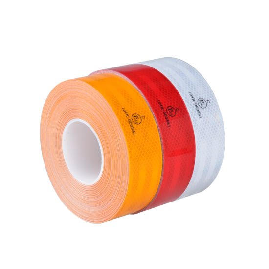 High Intensity Reflective Tape Blue Green Orange White Yellow Red Various Sizes