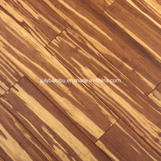 China Tiger Stripe Solid Bamboo Strand, Bamboo Flooring Vs Laminate