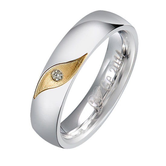 Wholesale Gold New Model Couple Rings Wedding Ring Jewelry