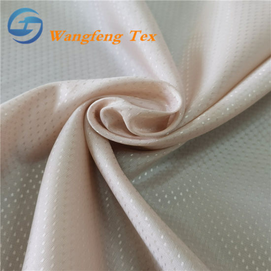 Star Design Jacquard Polyester Lining Fabric for Garments pictures & photos