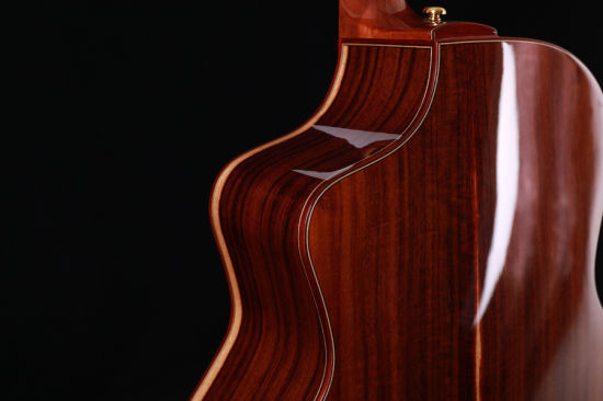 High Quality 41 Inch All Solid Acoustic Guitar Solid Spruce Top Solid Santos Side and Back with Bag