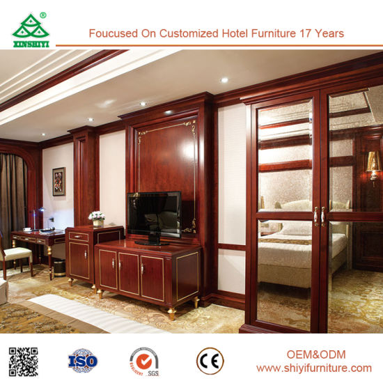 European Design 5 Star Hotel Double Bedroom Furniture Set pictures & photos