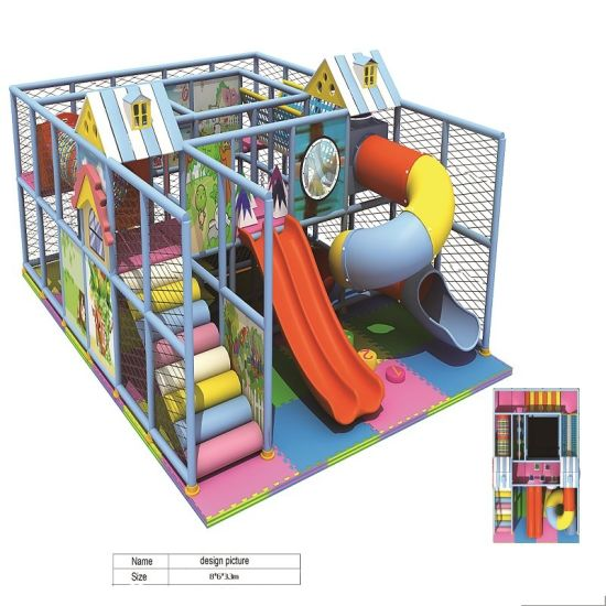 Cheap Indoor Playground, Indoor Amusement Park Equipment, Naughty Castle pictures & photos