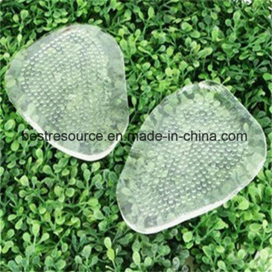 Imported PU Gel High Quality Clear/Pink Self-Adhesive Shoe Insole