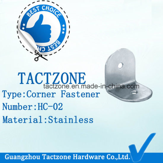 Modern Wholesale Bathroom Partition Fittings Corner Fasteners for Door pictures & photos