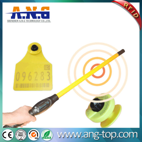 Lf RFID Animal Ear Tag with Em4305 for Animal Management pictures & photos