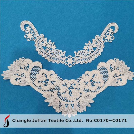 Polyester Lace Collar Neck Lace for Blouses and T-Shirt (C0170)
