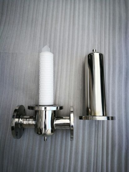 Hot Selling Stainless Steel Gas Steam Filter Housing pictures & photos