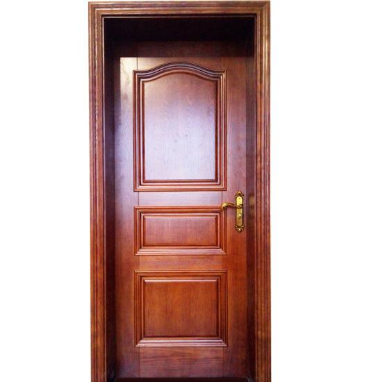 China Manufacturer Solid Cherry Interior Room Door Gsp2 076 Pictures Photos