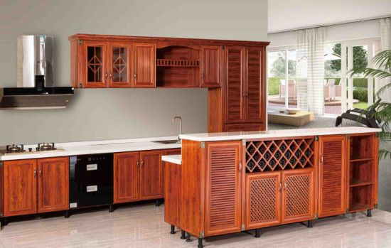 New Design Classical Style Outdoor Waterproof All Aluminum Kitchen Cabinets  (BR ALK001)