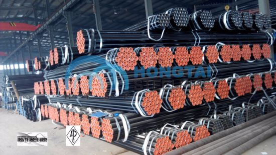 Supplier of Hot Rolled ASME A53 Gr B Seamless Steel Pipe with API Certificate pictures & photos