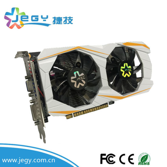 2017 Sales Champion VGA Card for Gaming Gtx1050 2gd5 128bit Graphic Card 4GB