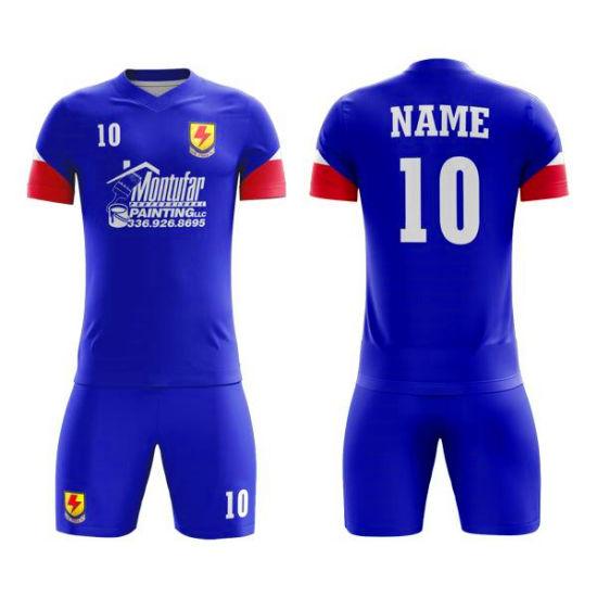 Custom Sublimation Sport Wear Cheap Soccer Shirt Uniform Football Jerseys
