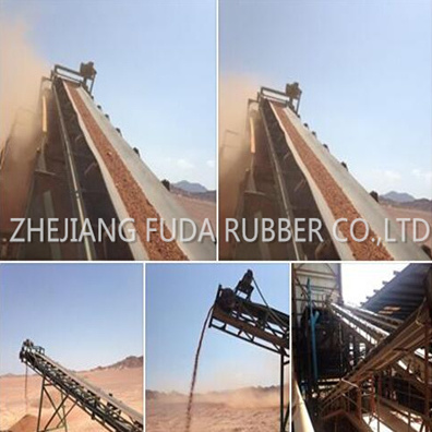 Ep Rubber Conveyor Bellt From China Industrial Open End Flat Dipped Ep Conveyor Belt pictures & photos
