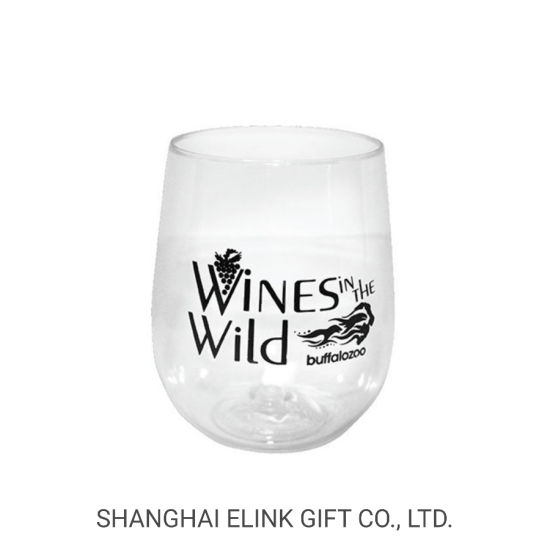 BPA Free Stemless Wine Cup Tumbler Cup Beer Cup Whiskey Cup for Outdoor Camping