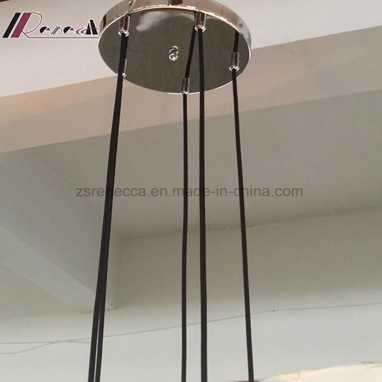 Modern Customized Fishing Glass Five Bulb Pendant Light pictures & photos