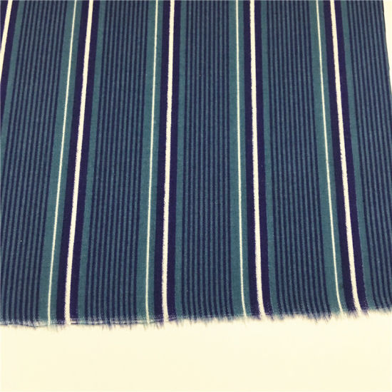 T/C 6535 Polyester Cotton Strip Fabric for Dress