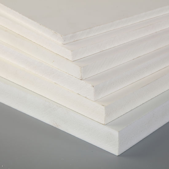White and Colorful Building Materials PVC Foam Board PVC Sheet for Screening Printing