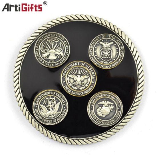 Customized Metal Challenge Souvenir Coin