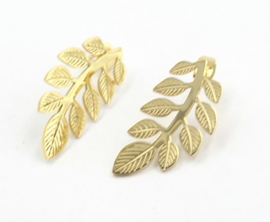 Fashion Cut out Leave Earrings for Gift Jewelry pictures & photos