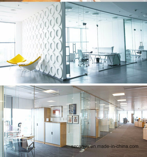 Indoor Aluminum Extrusion Office Partition Wall pictures & photos