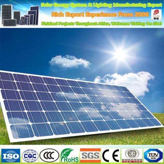 Fast Delivery High Efficiency 340W 350W 360W Monocrystalline Solar Panel