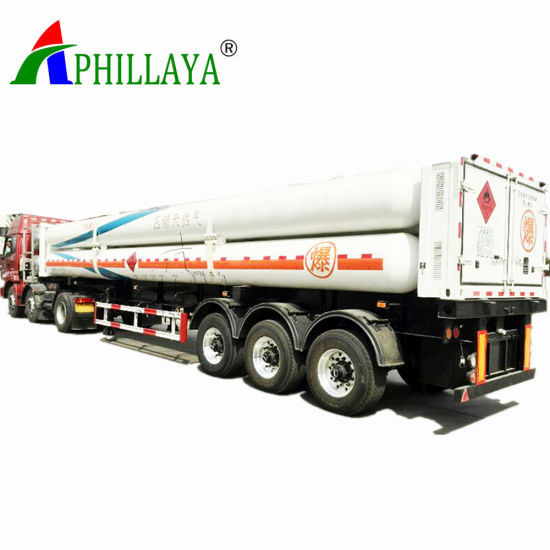40FT CNG Tube Skid Trailer with 8-12 Tubes (03) pictures & photos