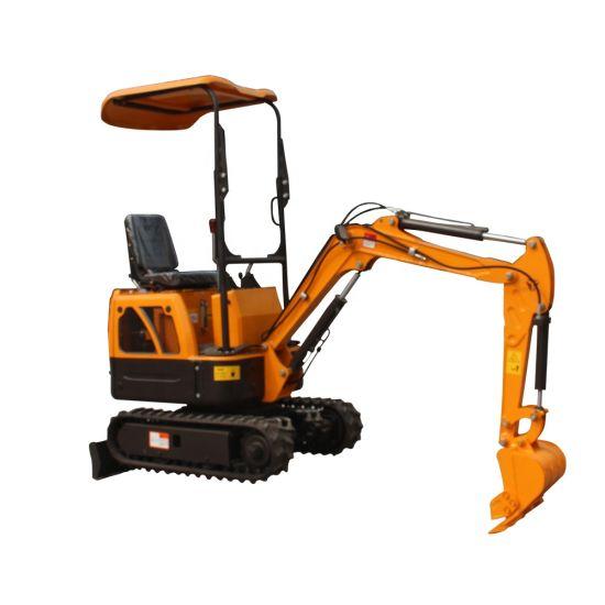 0 8ton Mini Excavator Machine with Grabber, Quick Hitch for Sale