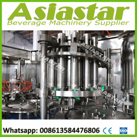 Automatic Liquid Beverage Filling Machine for Hot Juice Packing Plant pictures & photos