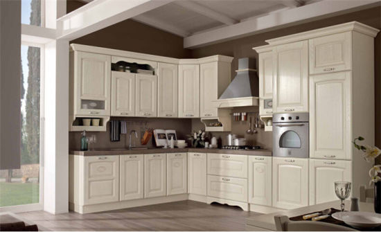 Champagn MDF Cabinet Door Kitchen Furniture