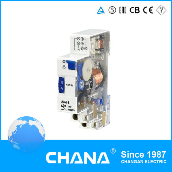 Ce and RoHS Approved AC 250V 12A Weekly Programmable Timer Relay pictures & photos