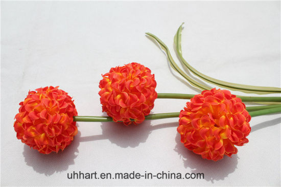 China Cheap Wholesale Silk Stock Artificial Flower Hydrangea Flowers