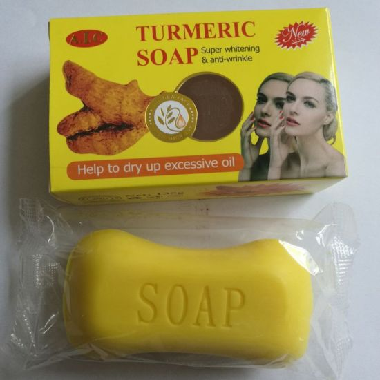 100g Natural Organic Turmeric Soap/Skin Care Bath Soap