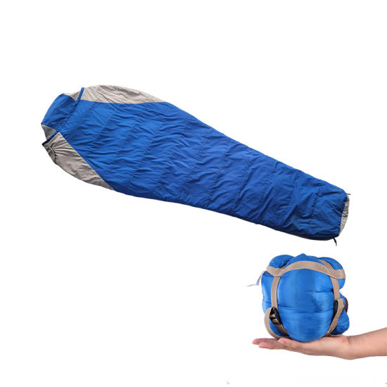Compression Small Packing Duck Down Sleeping Bag pictures & photos