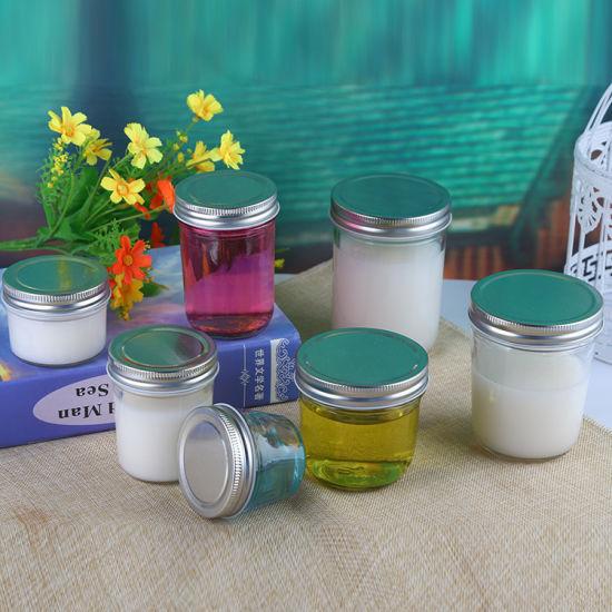 china 250ml clear airtight wholesale bulk mason jars of glass jam