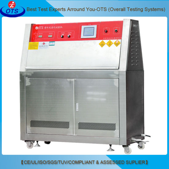 Lab Test Equipment Accelerated Weathering Aging Machine UV Test Chamber