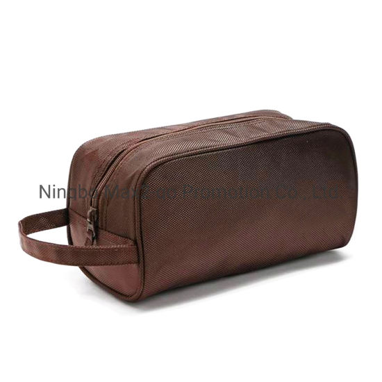 OEM Factory Made 1680d Nylon Cosmetic Case Toiletry Bag for Cosmetic