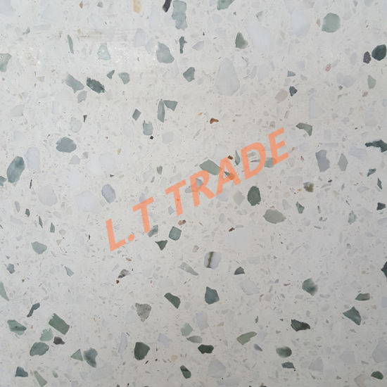 China Engineer Project Use Terrazzo Floor Tiles - China Terrazzo ...