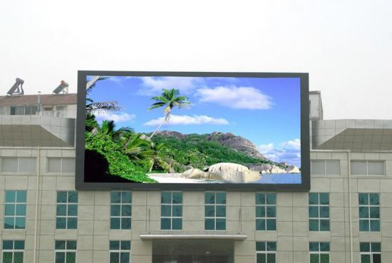 Outdoor Full Color Curve 90 Degree LED Advertising Display Panel Screen 960*960mm