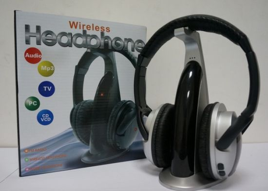 5 in 1 Wireless Headphone Wired Headset FM Radio Support pictures & photos