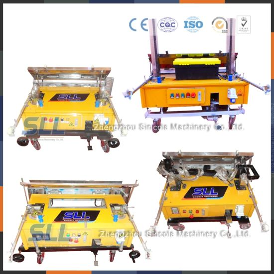 Patent and Ce Certification Mortar Spray Plastering Machine China Companies pictures & photos