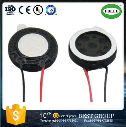 Fbs1737 Hot 8ohm Waterproof Mylar Speaker with Bonding Wire Wholesales (FBELE)