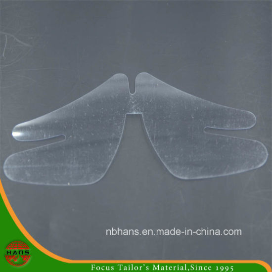 Plastic Collar Butterfly for Shirt Packing (HACTP160010)