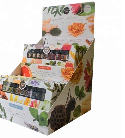 Corrugated Cardboard Paper Display Shelf Pop Display Rack for Retail