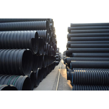 PE Pipe Corrugated for Underground Sewer
