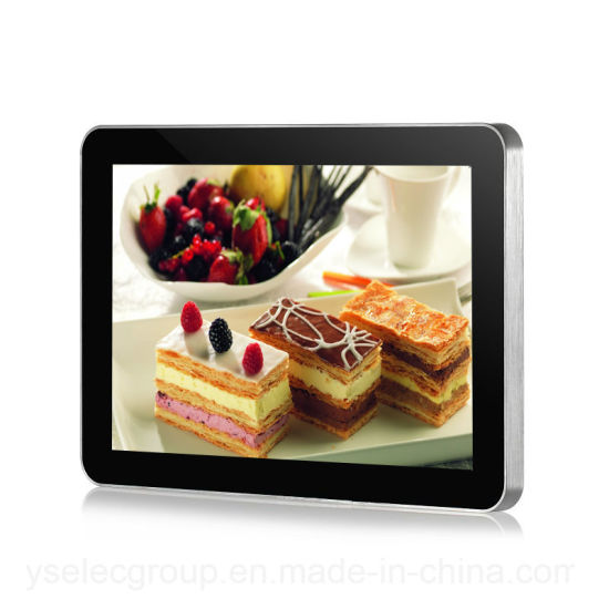 Yashi 10 Inch Digital Signage Android Wall Mount Touch Screen Network Ad Player pictures & photos