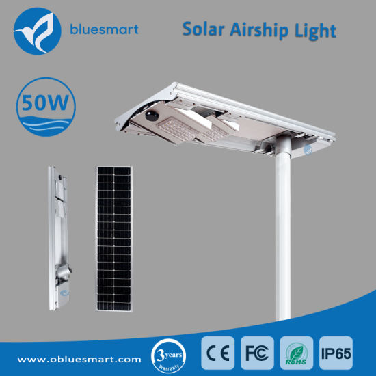 China 50w Solar Led Street Light For Road Lighting Project China