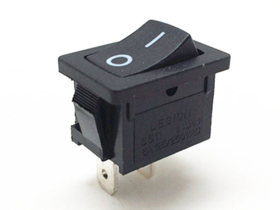 SGS Spst 2pin 16A Power Mini Micro Button Rocker Switch (SS11) pictures & photos