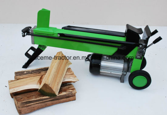 6t Horizontal Electric Splitter with 52cm Log Width pictures & photos