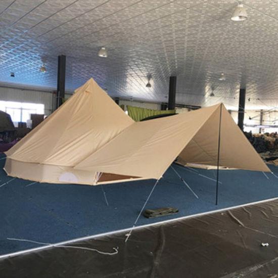 3m 4m 5m 6m 7m Outdoor Sahara Waterproof Canvas Bell Tent with Floor & China 3m 4m 5m 6m 7m Outdoor Sahara Waterproof Canvas Bell Tent ...